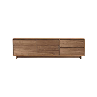 Wave TV Cupboard Teak