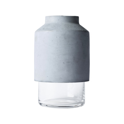 Willmann Vase Grey