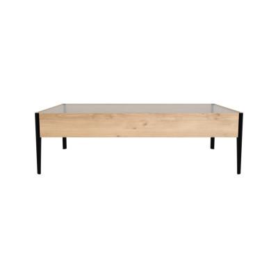 Window Coffee Table Oak
