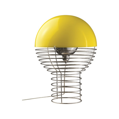 Wire Large Table Lamp 39 Yellow