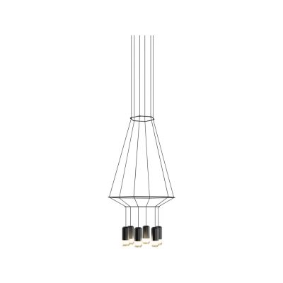 Wireflow Chandelier 6 Leds 110cm, Included