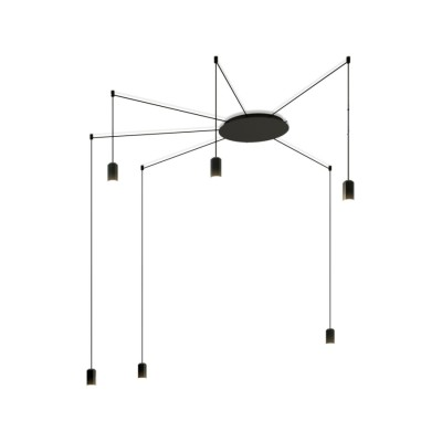 Wireflow Free Form Pendant Light - 6 LEDs Non-included