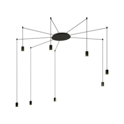 Wireflow Free Form Pendant Light - 8 LEDs Non-included
