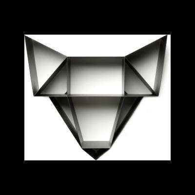 Wolf Shelf Charcoal Black