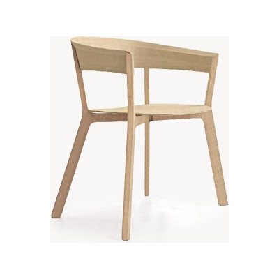 Wood Bikini Armchair Ash Natural