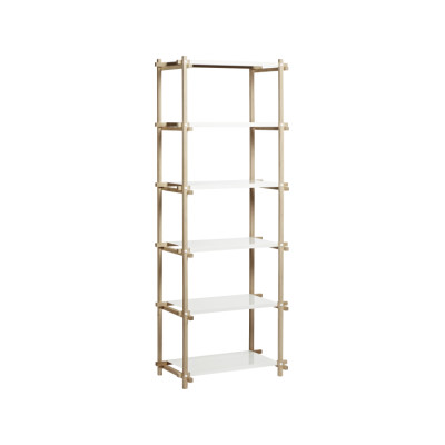 Woody Column Shelving System High