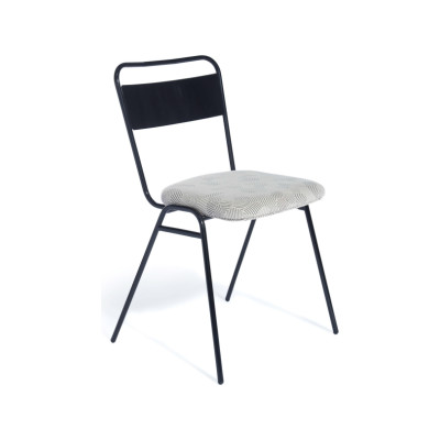 Working Girl Soft Dining Chair Ingleston Amazon, Raw Steel
