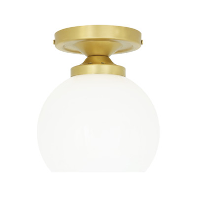 Yaounde Ceiling Light Satin Brass