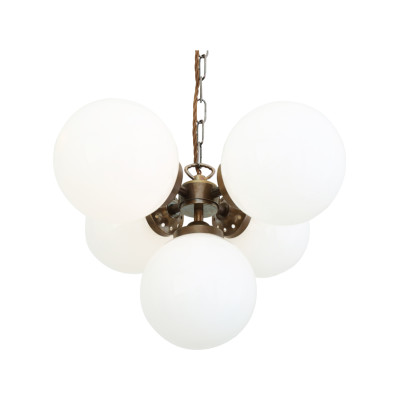 Yaounde Chandelier Satin Brass