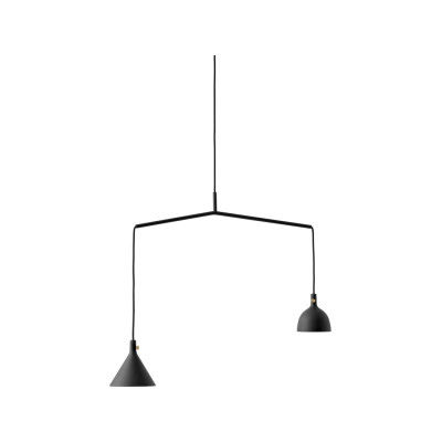Cast Shape 4 Pendant Light