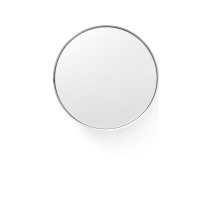 Darkly Mirror Brushed Aluminum, M