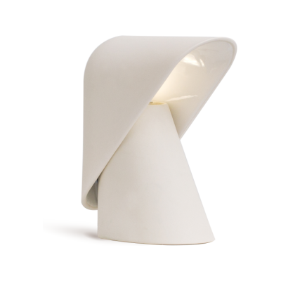 K Table Lamp Creamware