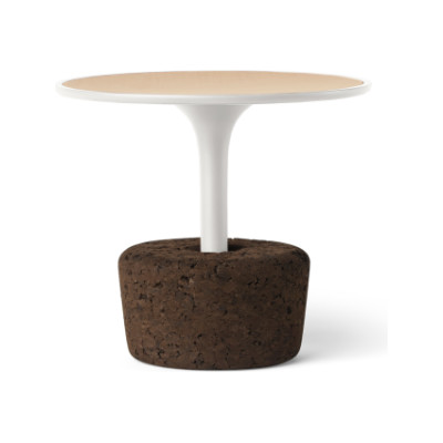 Flora Small Low Coffee Table Warm White, Low