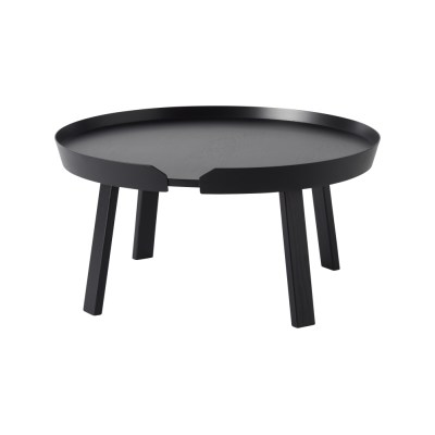 Around Large Coffee Table Black