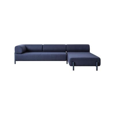 Palo Corner Sofa Right Blue