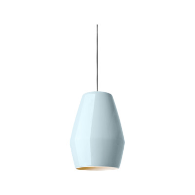 Bell Pendant Light Light Blue