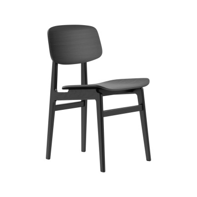 NY11 Dining Chair Oak Black