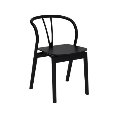 Flow Dining Chair Black