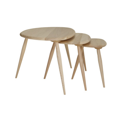 Originals Elm & Beech Nest of Tables Beech + Elm - DM-Beech-Elm