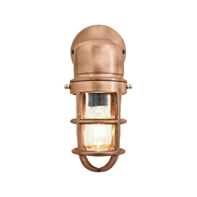 Bulkhead Outdoor & Bathroom Sconce Wall Light - 12 Inch Bulkhead Outdoor & Bathroom Sconce Wall Light - 12 Inch - Copper