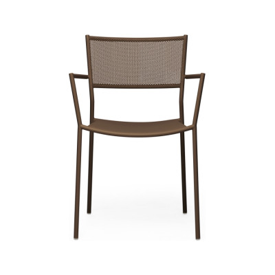 Jig Mesh Armchair Pale Brown - RAL 8025