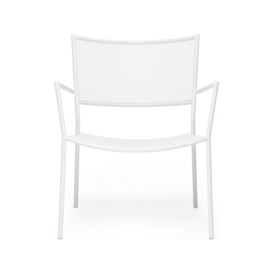 Jig Mesh Easy Chair White - RAL 9003