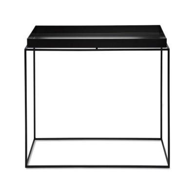 Tray Rectangular Side Table - Ex display Black