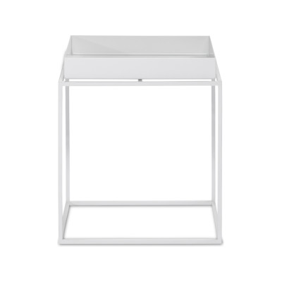 Tray Square Side Table - Ex display White, Small