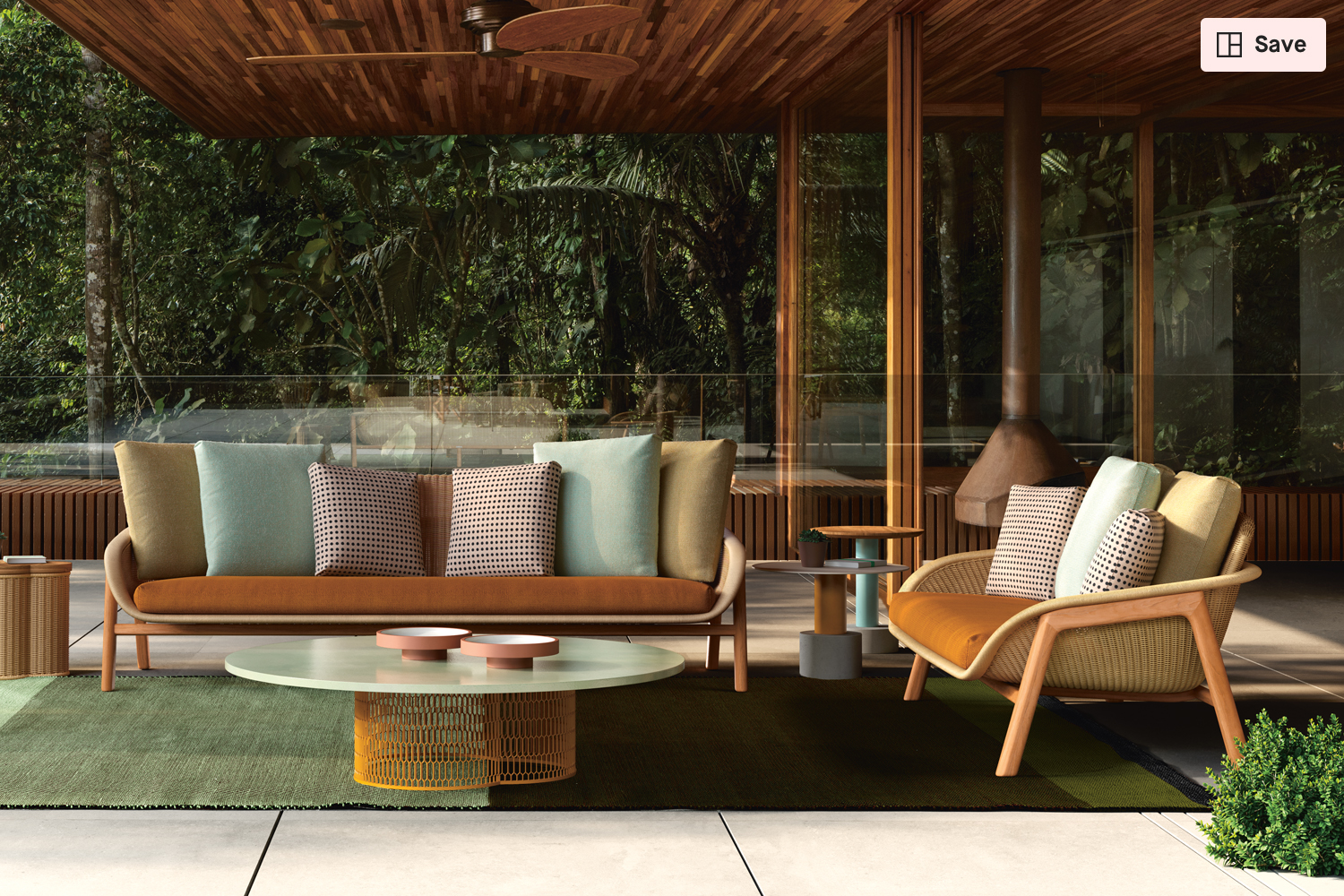 Vimini Seating Collection From Kettal Clippings