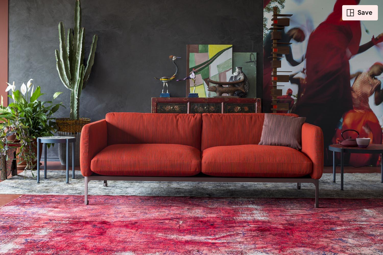 Casa Modernista Sofa From Moroso Clippings