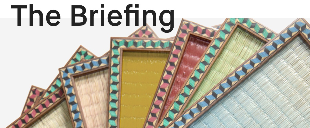 The Briefing interior design newsletter with trends and insights from Clippings