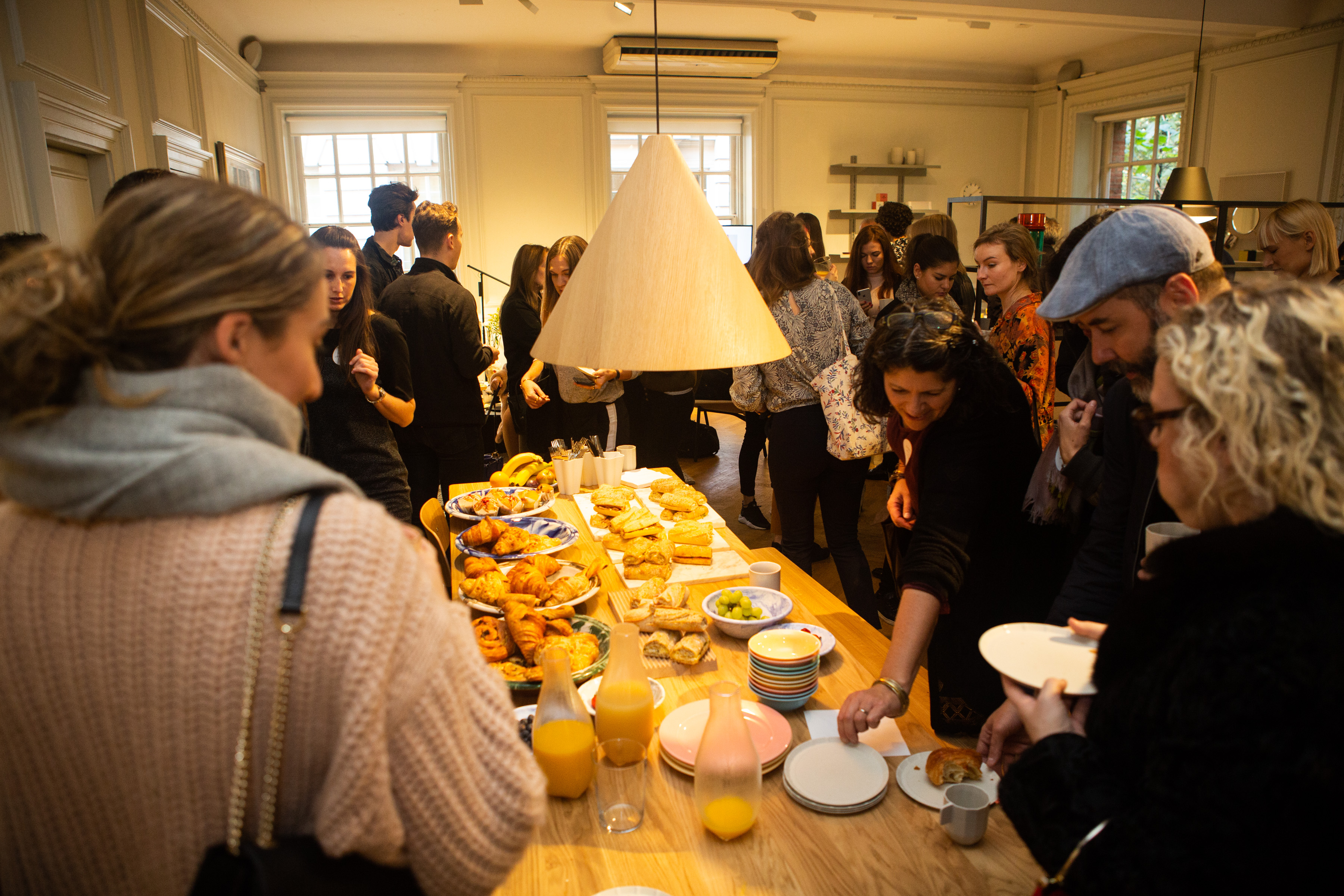 Clippings interior design event in London - Clippings Breakfast Insights with Hay