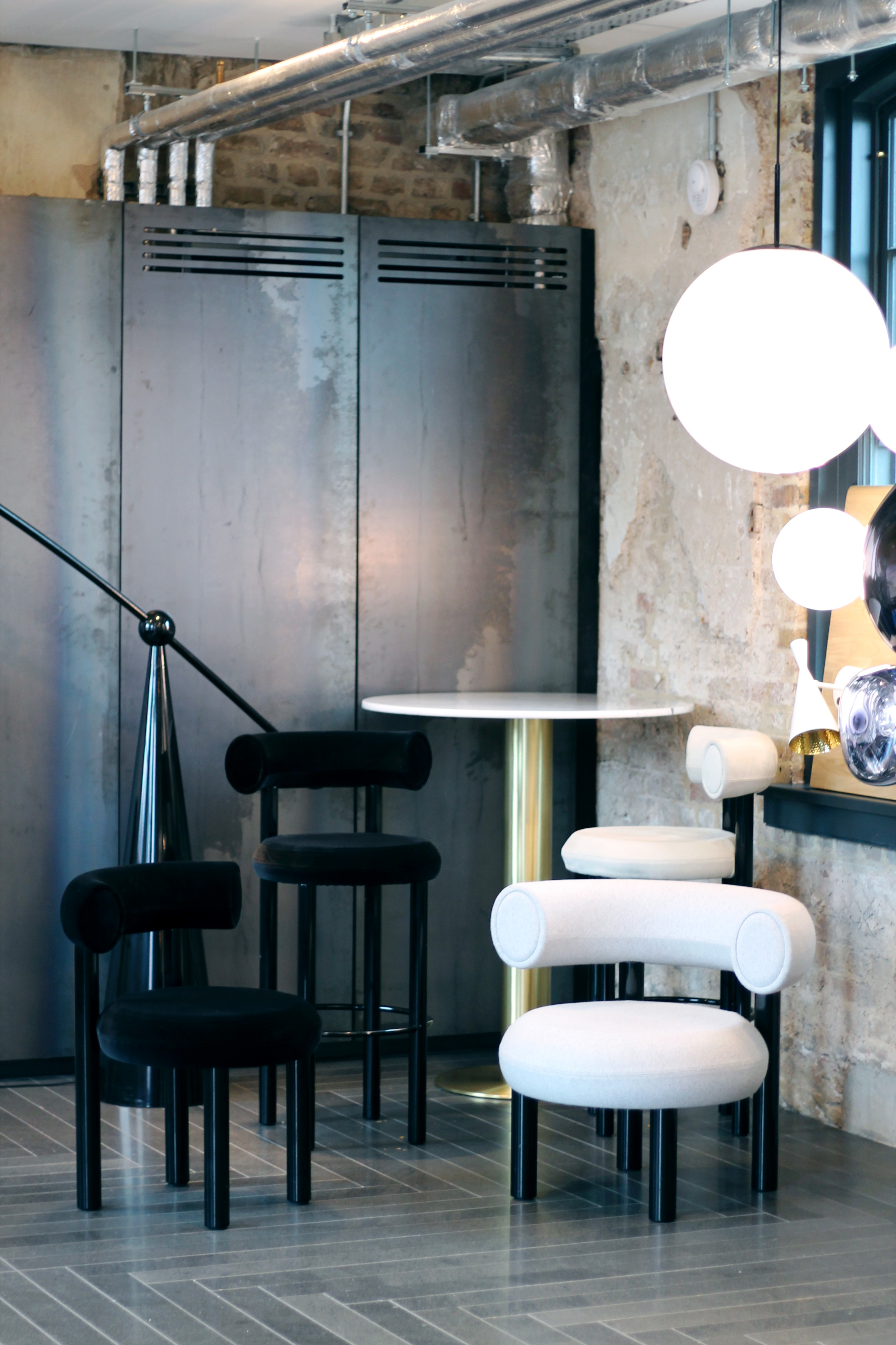 Clippings interior design event in London - Breakfast insights with Tom Dixon