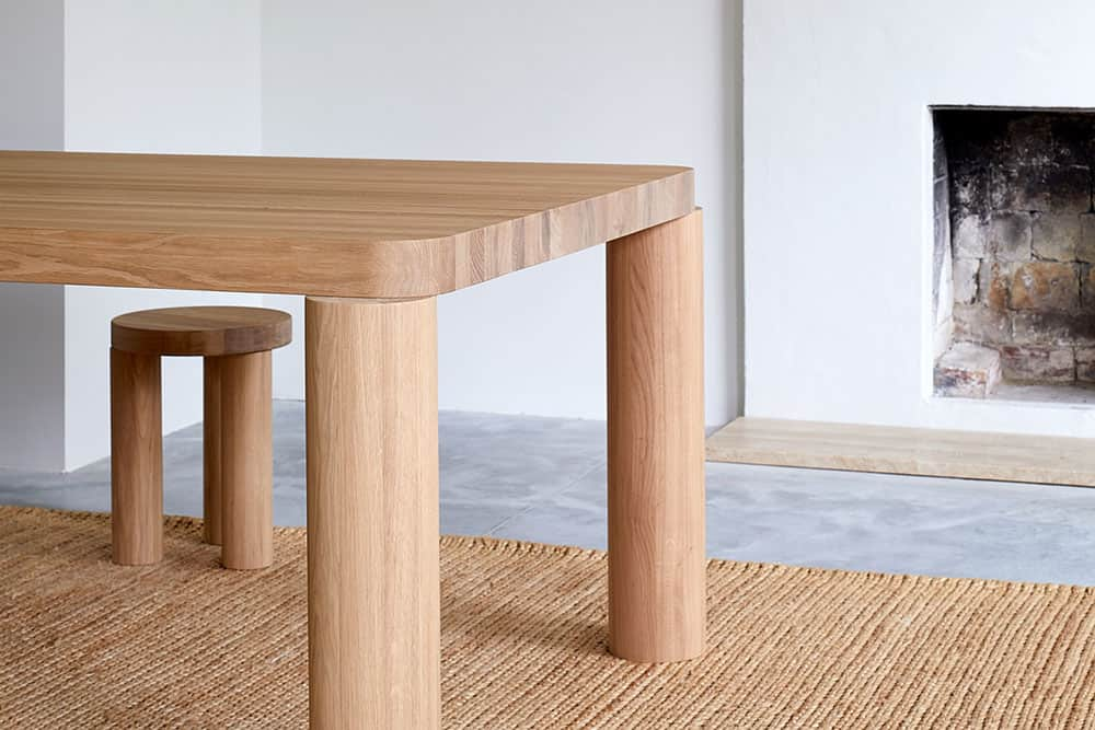Chunky Timbers: reassuringly solid wooden pieces