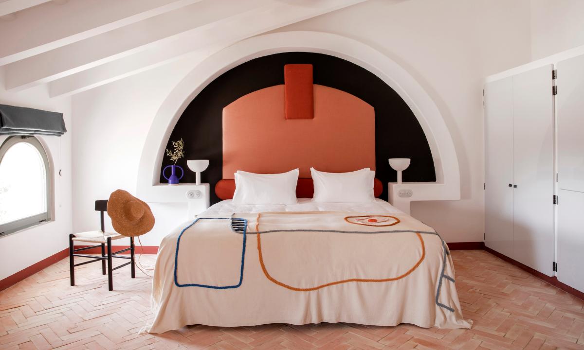 Mediterranean hotel interiors inspired by artists' villas