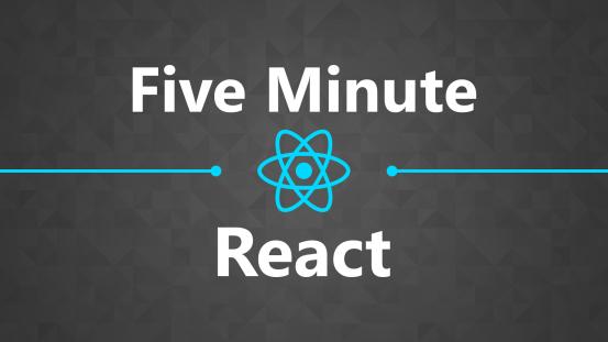 Five Minute React thumbnail