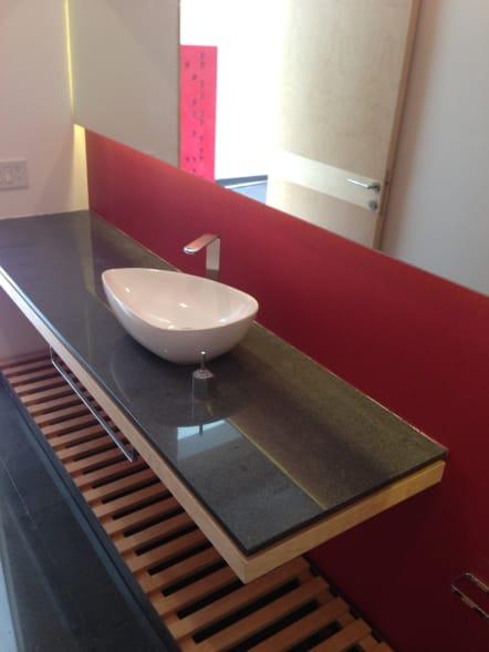 Mueble de baño estilo minimalista