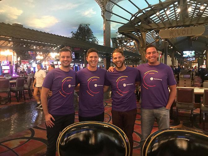 The team bringing a little purple to BlackHat Las Vegas this week
