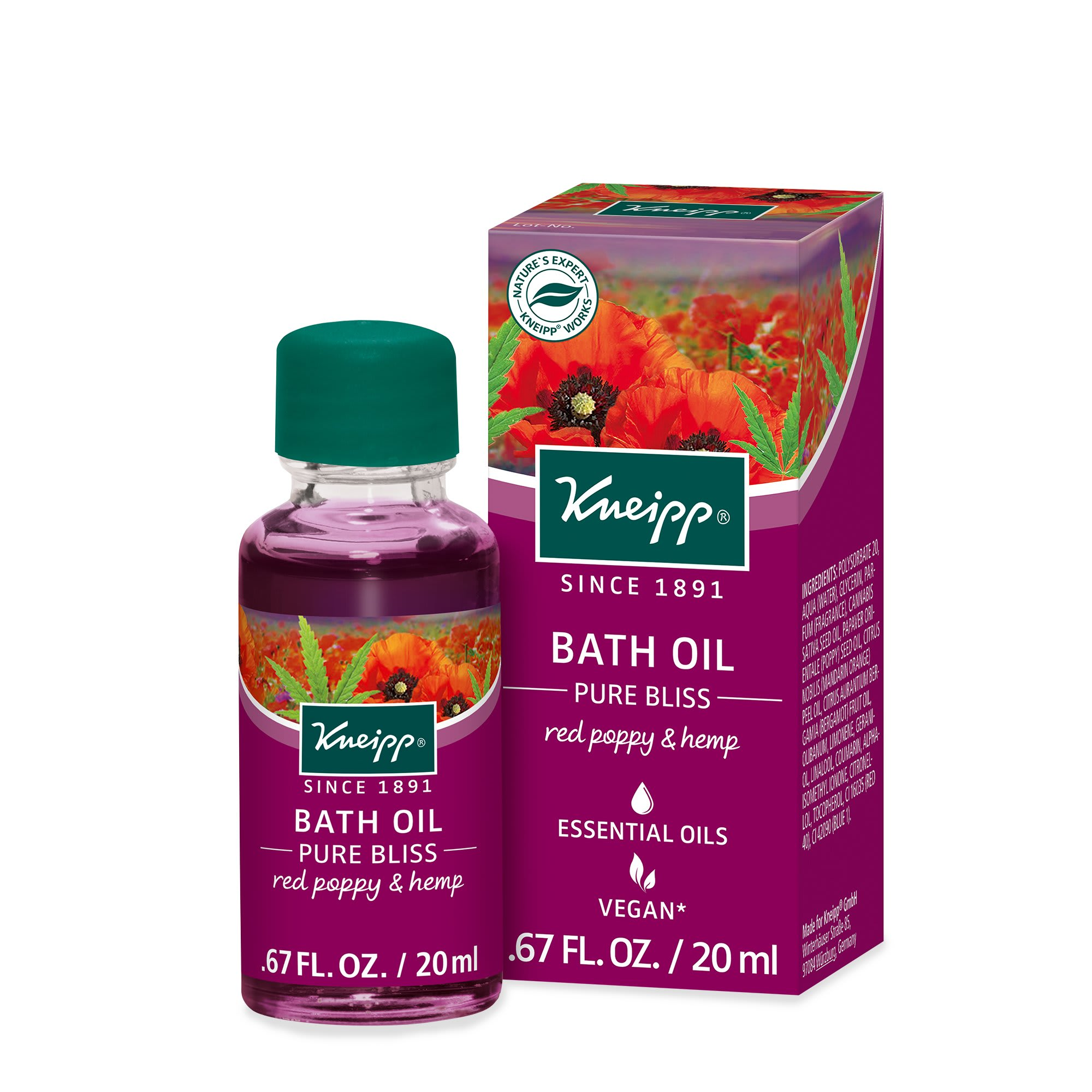 Kneipp Pure Bliss Bath Oil
