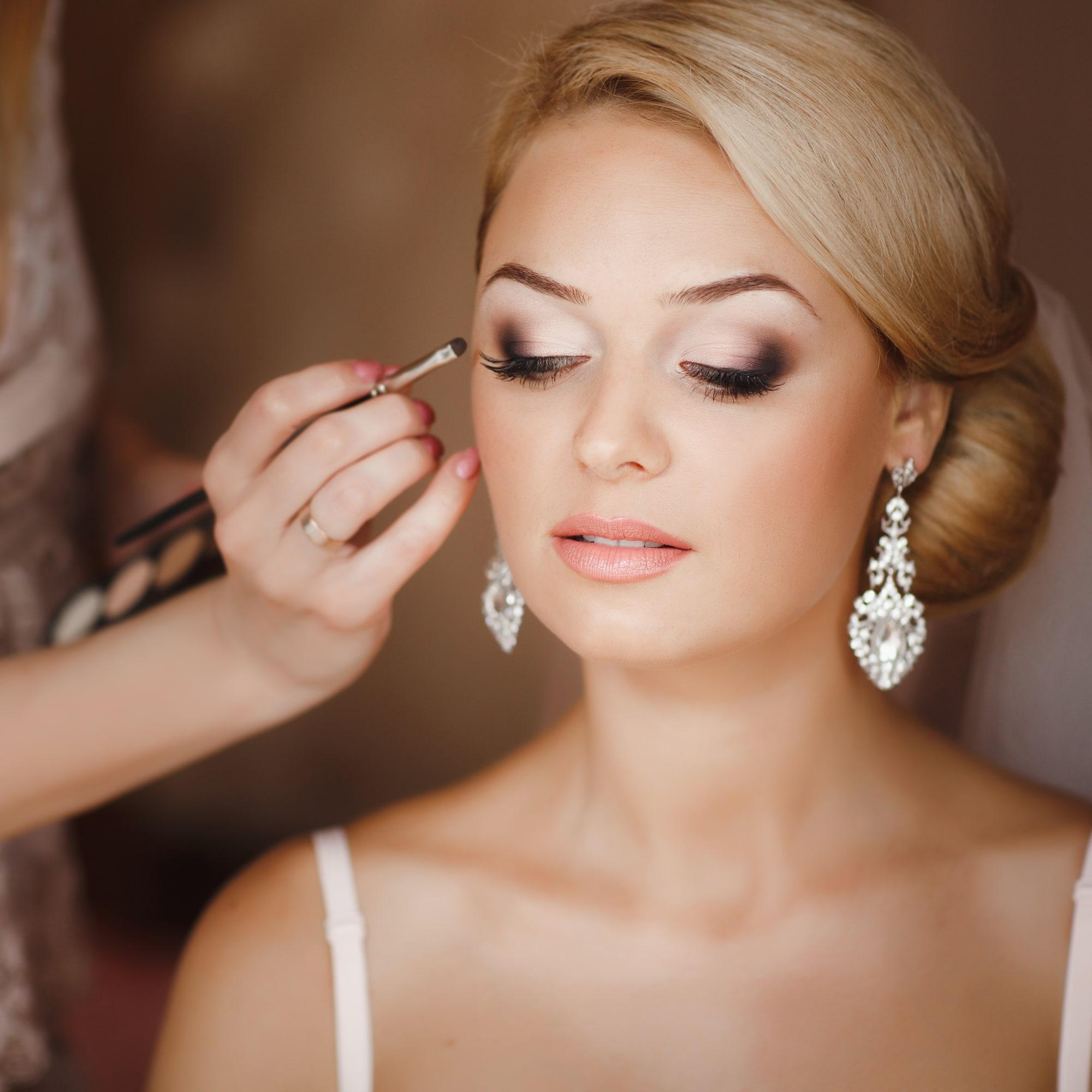 Complete bridal look bridal makeup spa vargas - Make up mariage ...