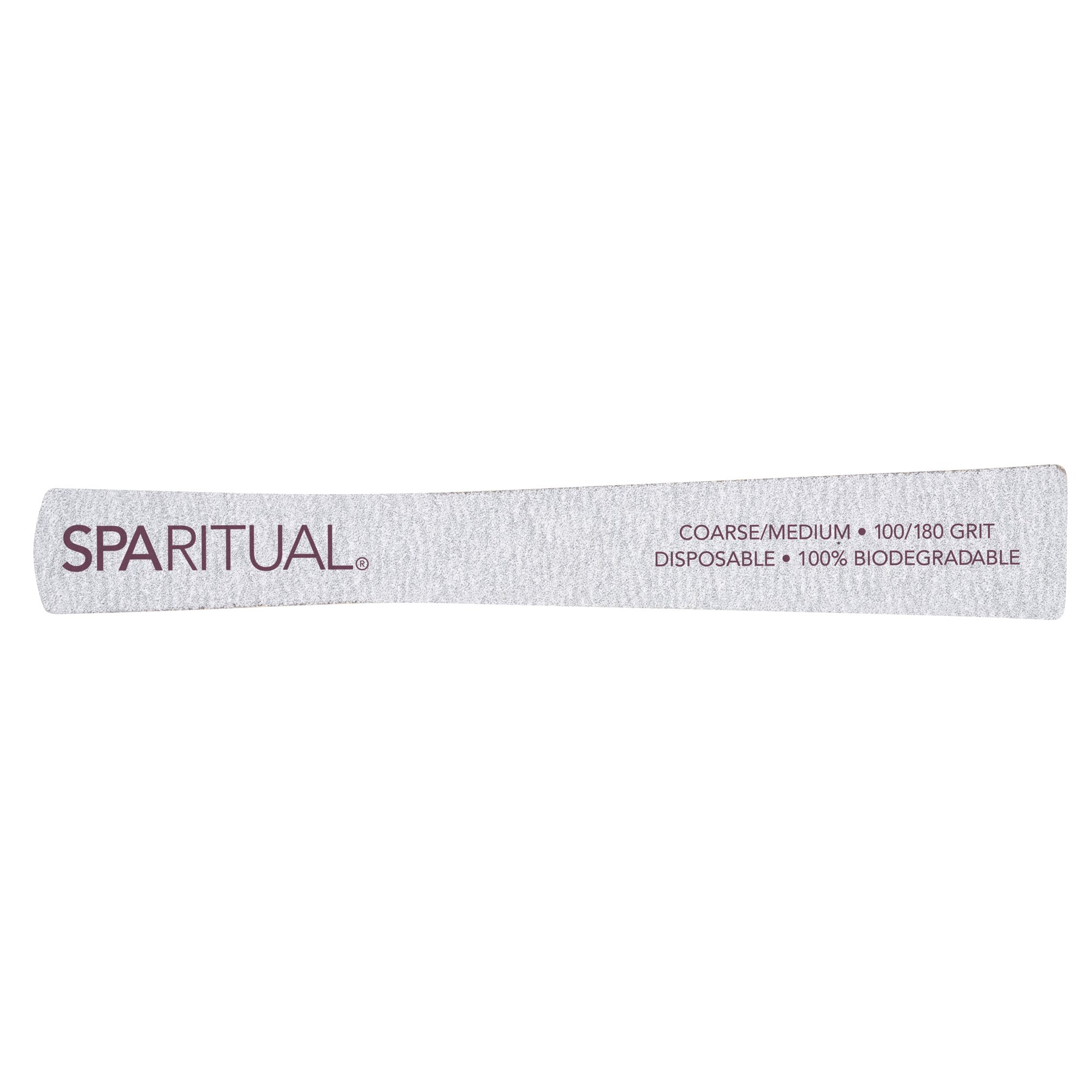 SpaRitual Zebra Board Nail File / 5pc – Spa Vargas