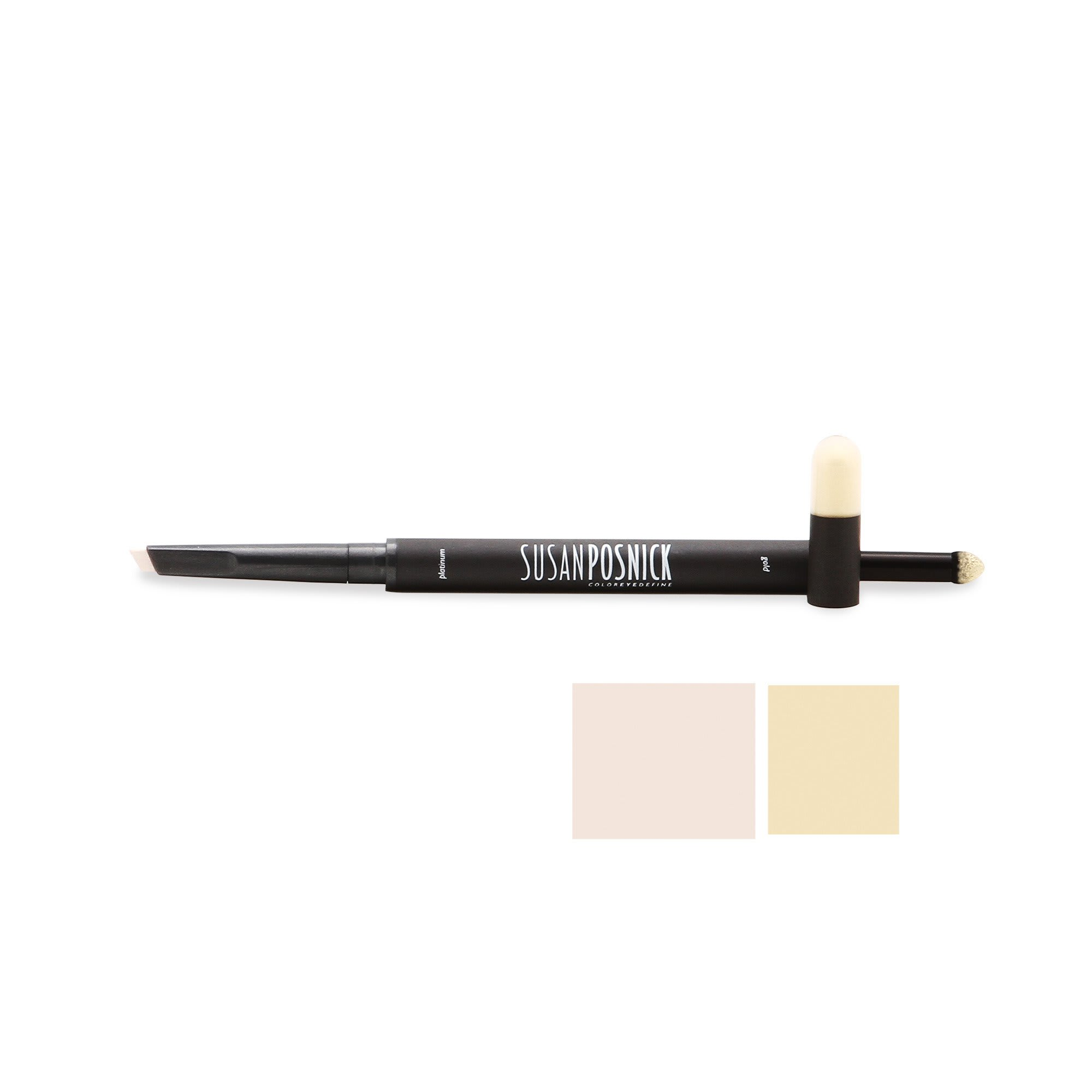 Susan Posnick Cosmetics Coloreyedefine Platinum / Gold