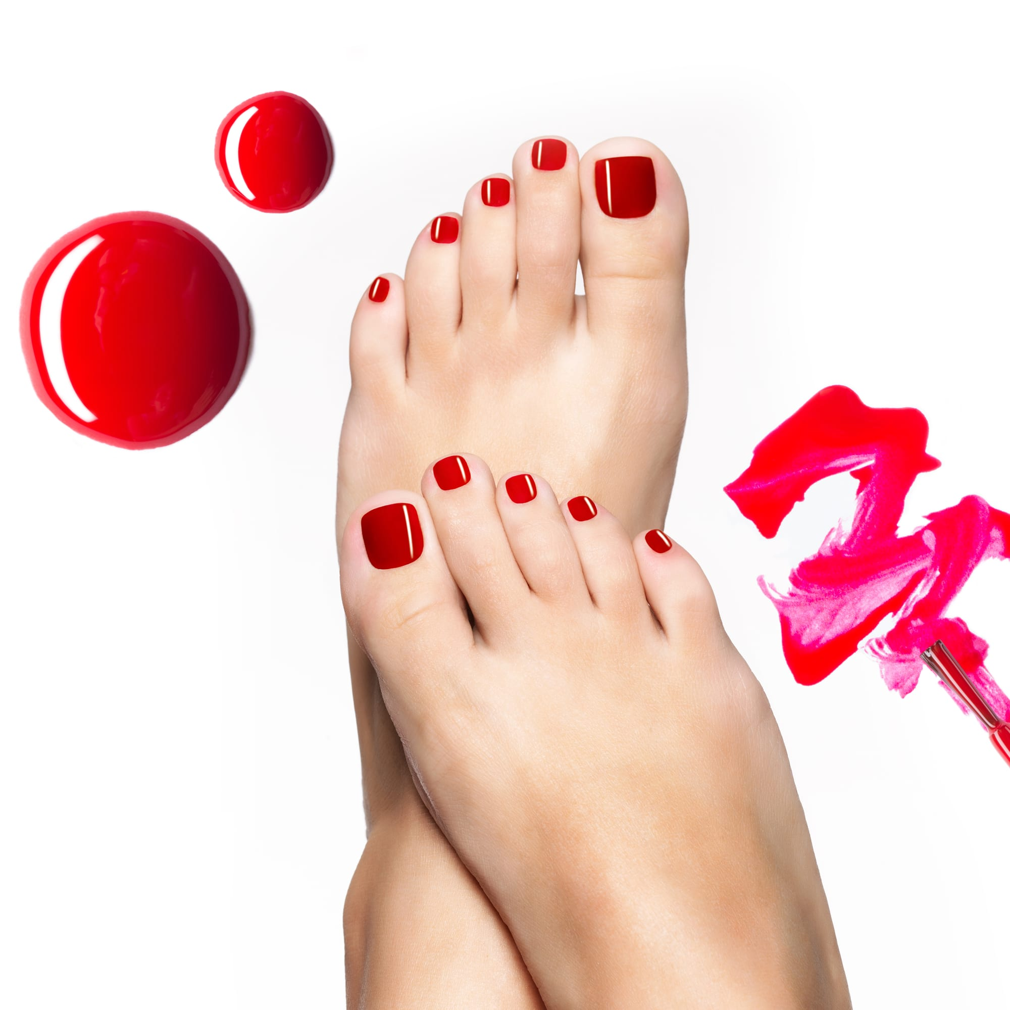 T Spa And Nail Supply: Vargas Classic Pedicure