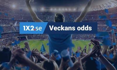 Veckans odds v37 - alla toppligor är igång igen!