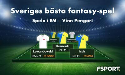 Speltips: Kvartsfinaler i EM och återigen 20 000 kr garanterat på FSport!