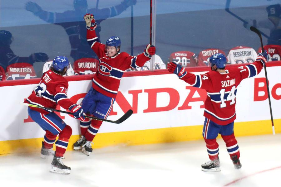 Canadiens jublar