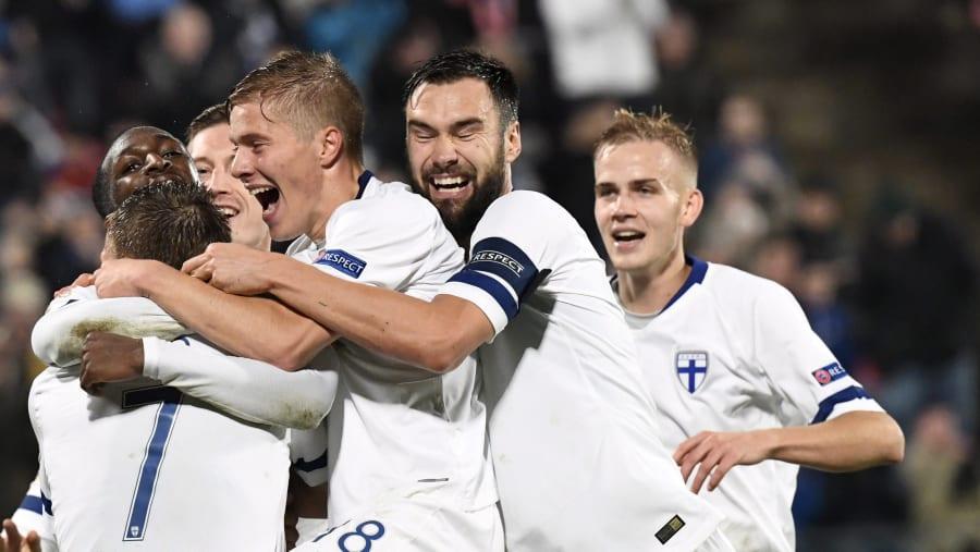 Finland firar