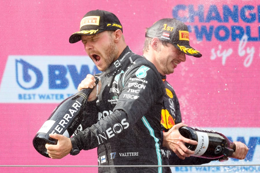 Formula 1 - österrike - skumpa