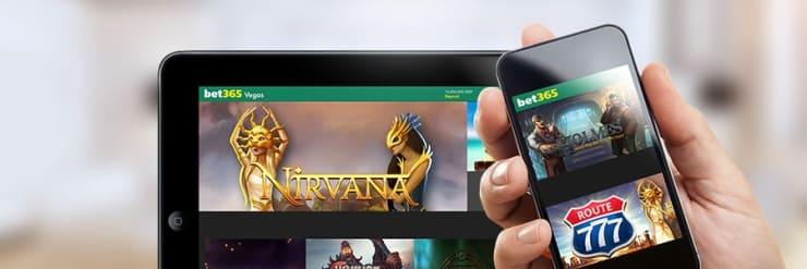 Vegas nätcasino hos bet365