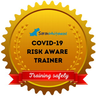 Covid-19 Risk Aware Trainer - Training Safely Badge
